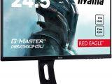 Border Crossing Card Que Significa Iiyama G Master Red Eagle Gb2560hsu B1 62 2 Cm 24 5 Zoll Gaming Monitor Full Hd 144hz Hdmi Displayport Usb 2 0 1ms Reaktionszeit Freesync
