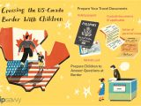 Border Crossing Card Time Limit How to Cross the Canadian U S Border with Children