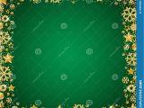 Border Design for Christmas Card Green Christmas Card with Border Of Golden Glittering