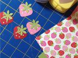 Border Punches for Card Making Fraise Faite Aux Perforatrices Coeur Et Fleur Punch