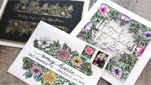 Border Stamps for Card Making Cardmaking Video Demo by Kristina Werner 1 Stamp Set 3