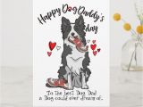 Border Terrier Father S Day Card Happy Father S Day From Your Border Collie Card Happy