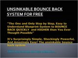 Bounce Back Email Template Unsinkable Bounce Back System for Free Authorstream