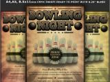 Bowling event Flyer Template Bowling event Party Flyer Template Cares Pinterest