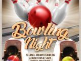 Bowling Flyers Templates Free 21 Bowling Flyer Designs Psd Download Design Trends