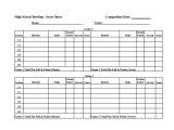 Bowling Recap Sheet Template 11 Sample Bowling Score Sheets Sample Templates