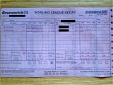 Bowling Recap Sheet Template Alltenback Bowling Blog Super Bowl and Super Bowling Well