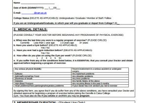 Boxing Contract Template 11 Gym Contract Templates Pages Word Docs