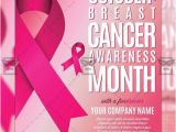Breast Cancer Awareness Flyer Template Free Breast Cancer Awareness Month Community A5 Flyer