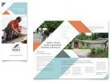 Brochure Templates for It Company Roofing Company Brochure Template Design