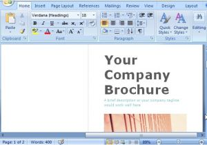 Brochure Templates Free Download for Word 2007 Microsoft Word Brochure Template Doliquid