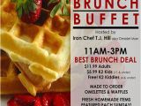 Brunch Flyer Template Free Brunch Flyers Google Search Projects to Try