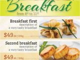 Brunch Flyer Template Free Light Breakfast Flyer Template by Kreatorr Graphicriver