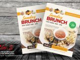 Brunch Flyer Template Free Sunday Brunch Flyer Templates by Kinzi21 Graphicriver