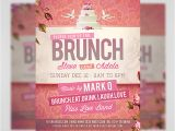 Brunch Flyer Template Free Wedding Brunch Flyer Template Flyerheroes