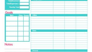 Budget Planners Templates Free Budget Planner Template Printable Planner Template
