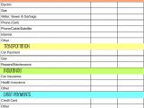 Budget Planners Templates Monthly Budget Planner Template Budget Template Free