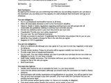 Building Work Contract Template Sample Industry Contract Template 5 Free Documents