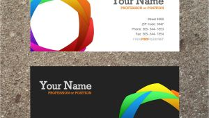 Buiness Card Template 10 Modern Business Card Psd Template Free Images Free