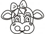 Bull Mask Template Printable Cow Face Mask Pictures to Pin On Pinterest