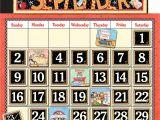 Bulletin Board Calendar Template Classroom Calendar Bulletin Board From Mary Engelbreit