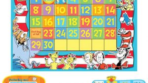 Bulletin Board Calendar Template Dr Seuss Calendar Bulletin Board Set