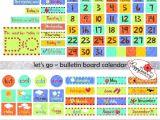 Bulletin Board Calendar Template the Most Amazing Bulletin Board Calendar Printables