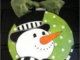 Burlap Door Hanger Templates Items Similar to Snowman Door Hanger On Etsy