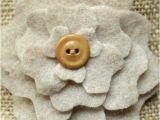Burlap Flower Template Diy Favor Bags Peony Pockets Part Two