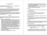 Business Agreement Contract Template Contract Templates Archives Microsoft Word Templates