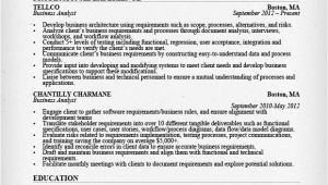 Business Analyst Resume Sample Business Analyst Resume Sample Writing Guide Rg
