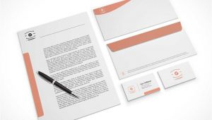 Business Card and Letterhead Mockup Company Stationery Letterhead Business Cards Envelopes