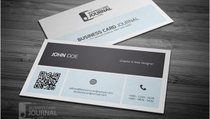 Business Card with Qr Code Template 25 Free Psd Business Card Mockup Templates Tutorial Zone