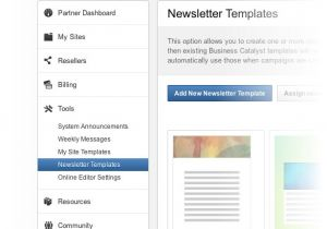 Business Catalyst Email Templates Partner Program Adobe Business Catalyst