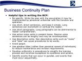 Business Continuity Plan and Disaster Recovery Plan Templates Bcp Business Continuity Plan Pdf