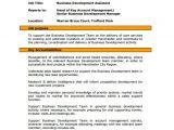 Business Development Email Template Business Development Job Description Template 10 Free