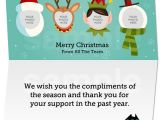 Business Email Christmas Card Template Business Email Christmas Card Template E Cards Teamphoto