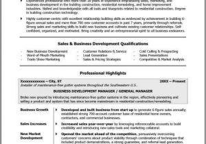 Business Owner Resume Sample former Business Owner Resume Sample
