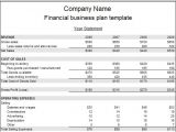 Business Plan Financial Template Financial Plan Business Reportz515 Web Fc2 Com