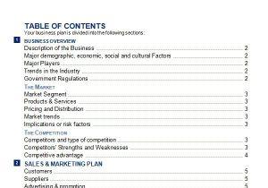 Business Plans Templates Pdf 30 Sample Business Plans and Templates Sample Templates