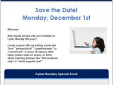 Business Save the Date Email Template 7 Holiday Email Templates for Small Businesses Nonprofits