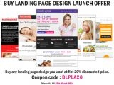 Buy Landing Page Templates Buylandingpagedesign Launch Special Discount Offer