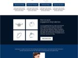 Buy Landing Page Templates Res Jewelry Landing Page Design 001 Jewelry Responsive