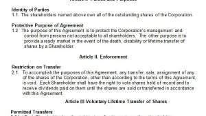 Buy Sell Agreements Templates 17 Sample Buy Sell Agreement Templates Sample Templates