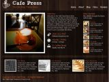 Cafepress Shop Templates Free WordPress themes for Restaurants Cafe Cooking Food