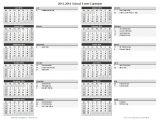 Calendar Of Activities Template School Calendar Template 2018 2019 School Year Calendar