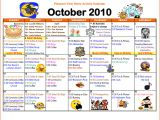 Calendar Of Activities Template Search Results for Blank Word Search Template Calendar