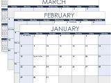 Calendar Template by Vertex42 Com Excel Calendar Template for 2019 and Beyond