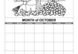 Calendar Template for Word 2007 Download October Calendar Printable Calendar for Word 2007