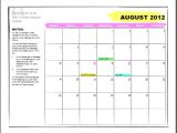 Calendar Template In Word 2010 How to Make A Calendar Template On Microsoft Word 2010